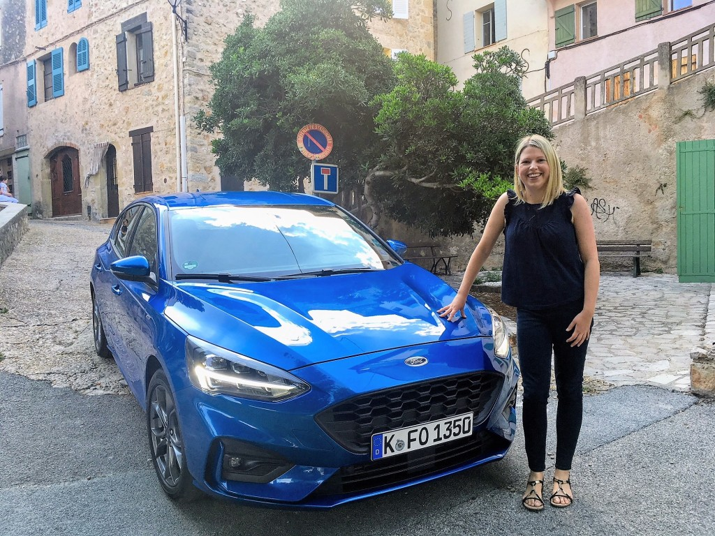 Caroline Kidd Changing Lanes and the Ford Focus